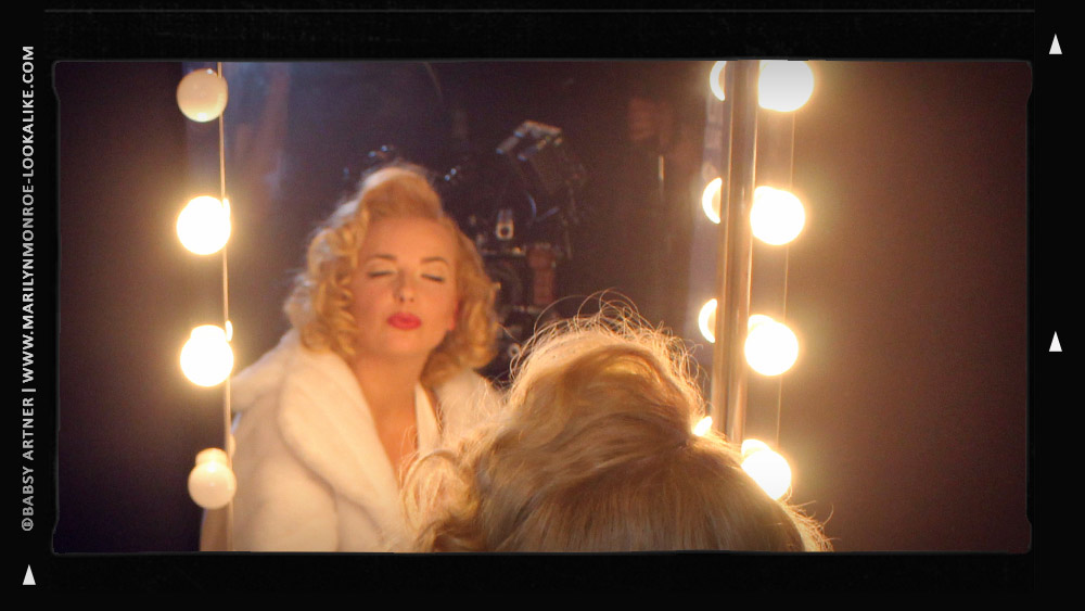 Babsy Artner as Marilyn Monroe