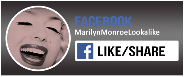 Babsy Artner as Marilyn Monroe on Facebook