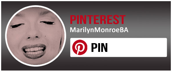 Babsy Artner as Marilyn Monroe on Pinterest