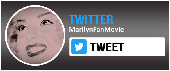 Babsy Artner as Marilyn Monroe on Twitter