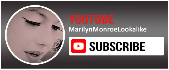 Babsy Artner as Marilyn Monroe on YouTube