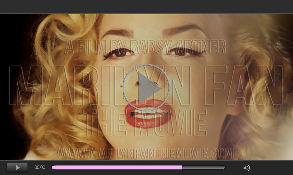 Video Marilyn Monroe Lookalike Babsy Artner